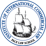Logo: Institute of International Commercial Law at Pace Law School