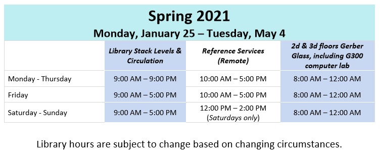 Spring Hours updated