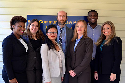 Pace Community Law Practice team photo
