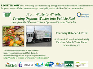 Turning Local Organic Wastes into Vehicle Fuel