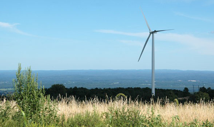 Maple Ridge Wind Power project, located in Lewis County, NY