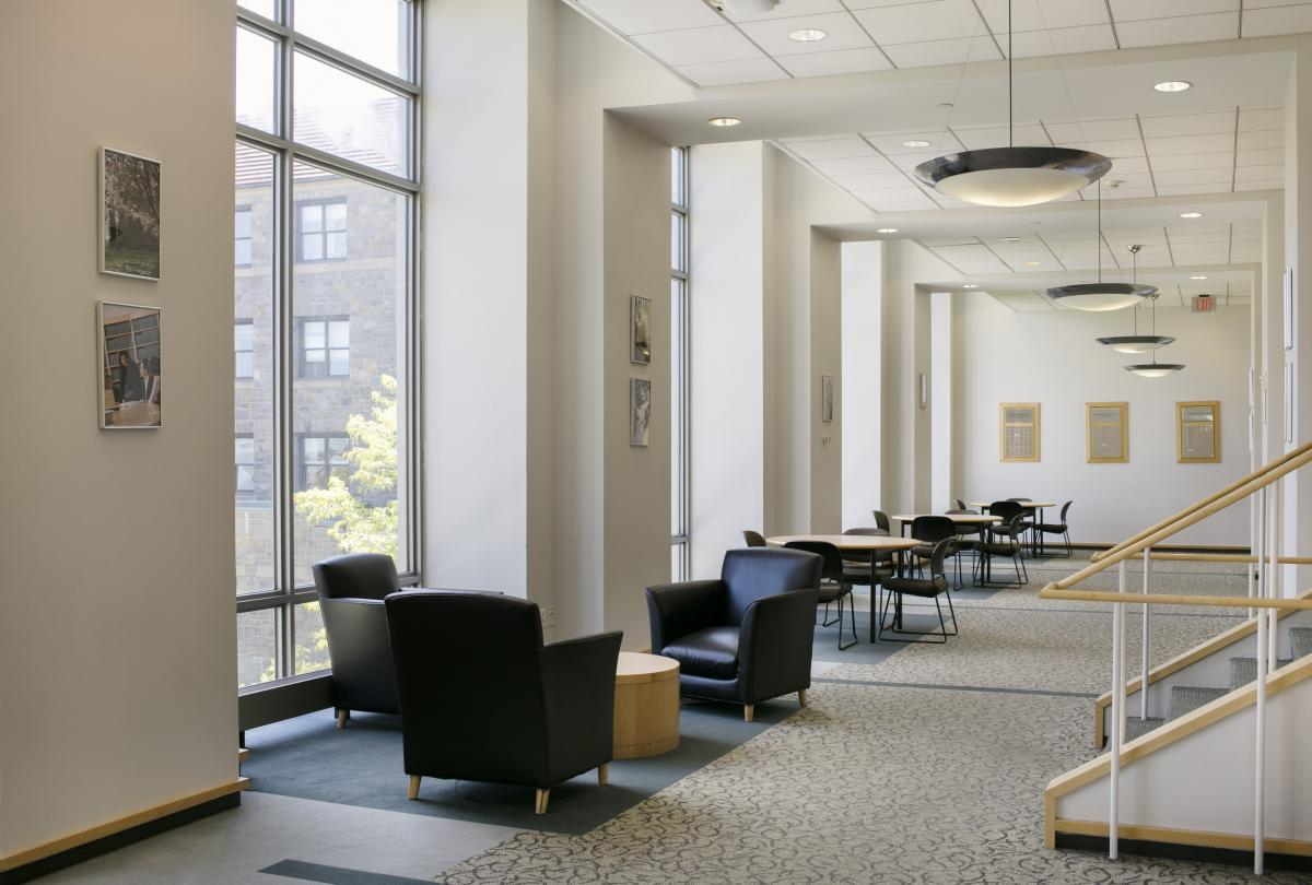Hallway of Ottinger Hall