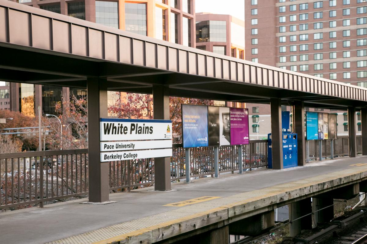 White Plains Train Station