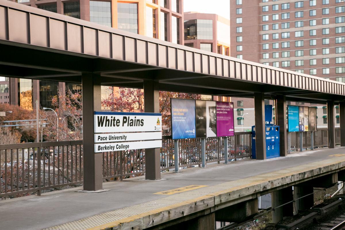 White Plains Train Station