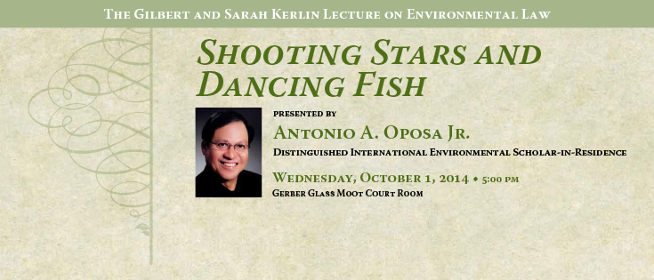 2014 Kerlin Lecture