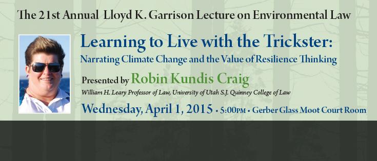 2015 Garrison Lecture