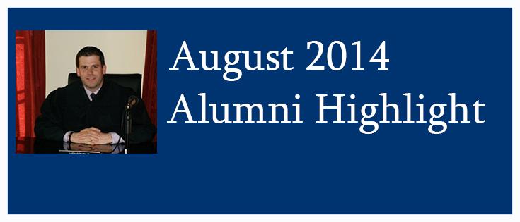 Alumni Highlight August - Rory K. Brady ('12)
