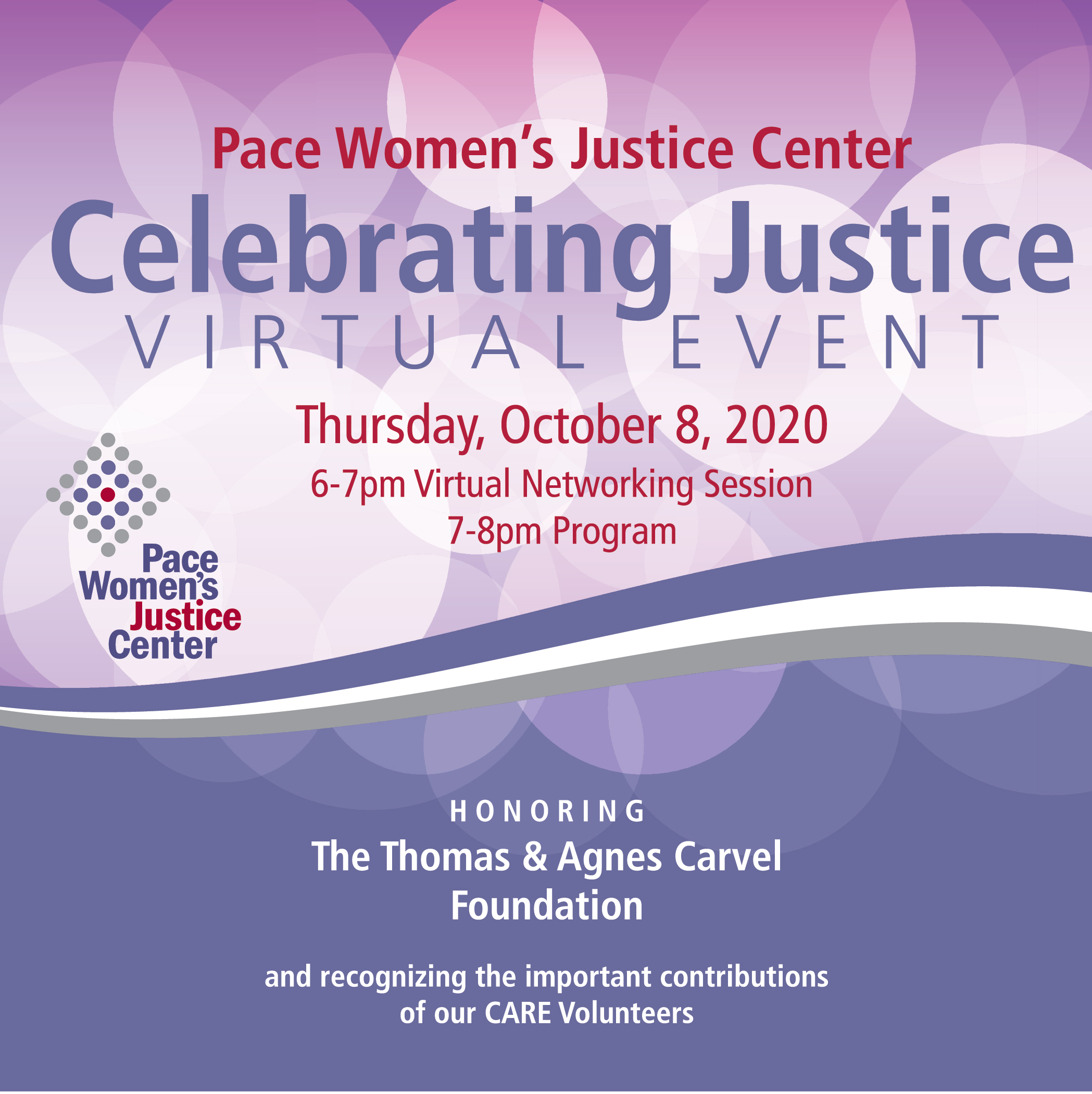 Celebrating Justice Virtual Event