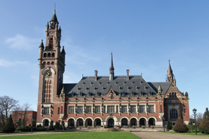 Peace Palace at the Hague