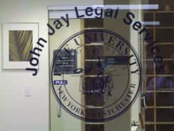 John Jay Legal Services door