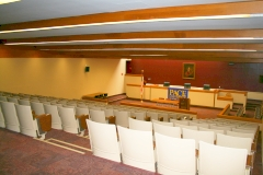 Robert B. Fleming Moot Courtroom - Joseph and Bessie Gerber Glass Law Center
