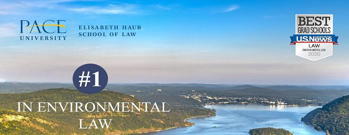 US News and World Report ranks our environmental law program #1