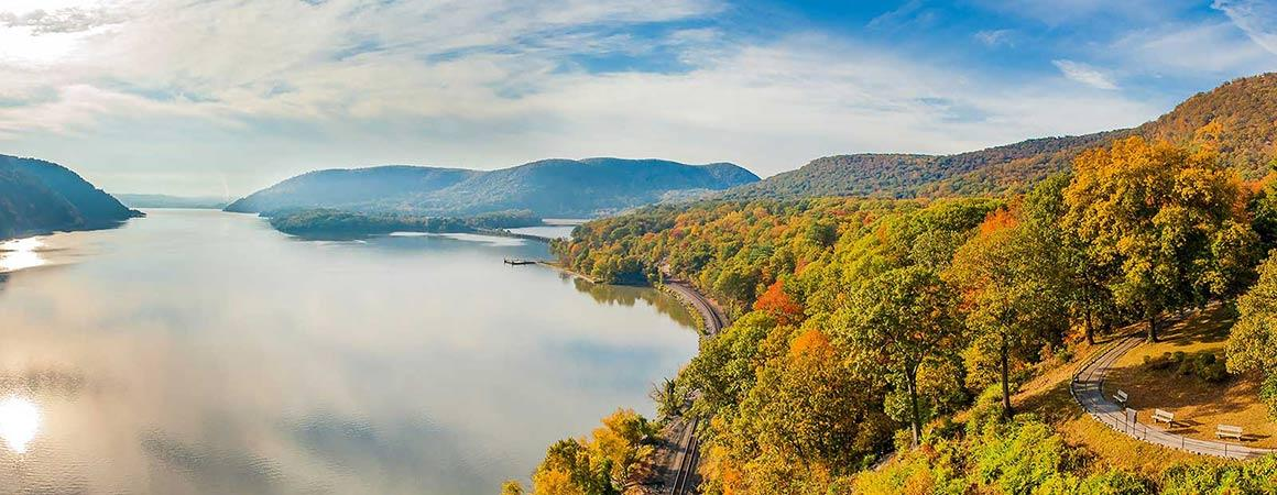 Hudson River in Autumn