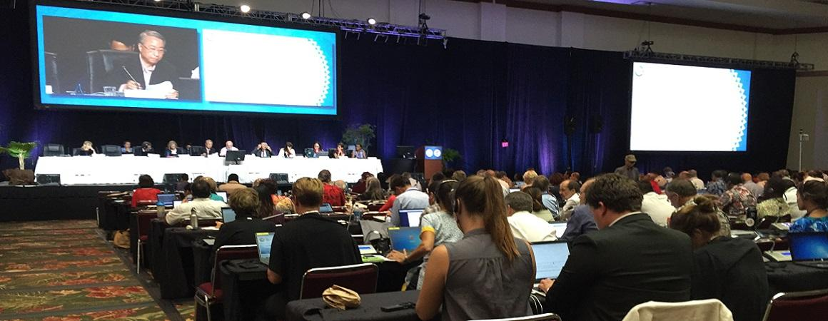 IUCN Conference in Hawaii