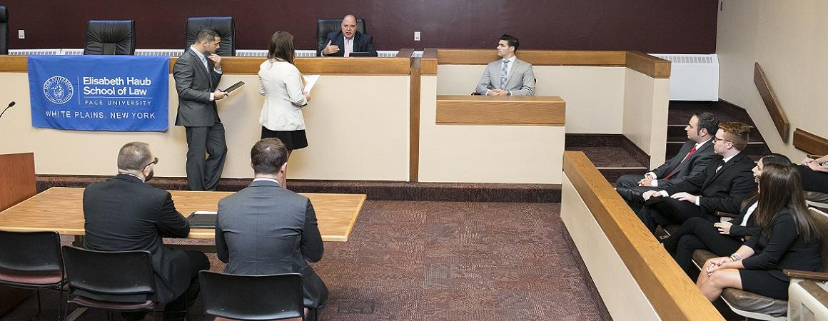 Students in Moot Court
