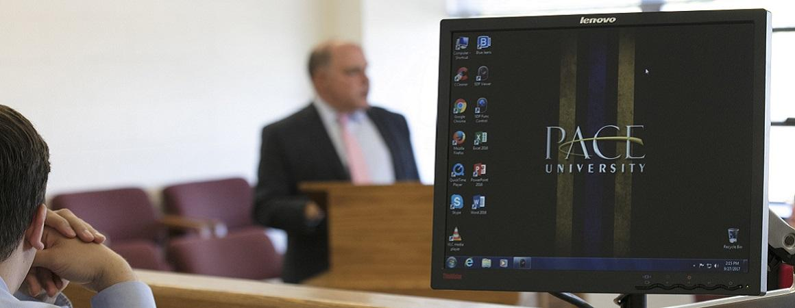 Pace Law desktop computer