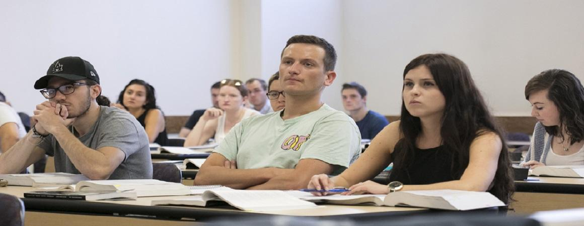 Students Viewing Lecture