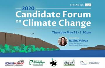 2020 Candidate Forum on Climate Change