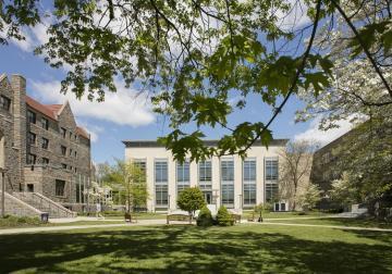 Law School Quad, Preston and Ottinger Halls