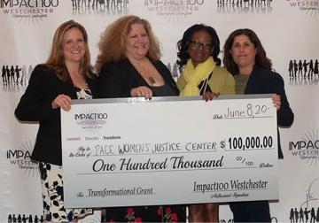Pace Women's Justice Center receives a $100,000 grant.