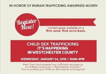 Child Sex Trafficking: It's Happening in Westchester County