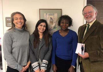 Tarini Mehta awarded SJD from Elisabeth Haub School of Law