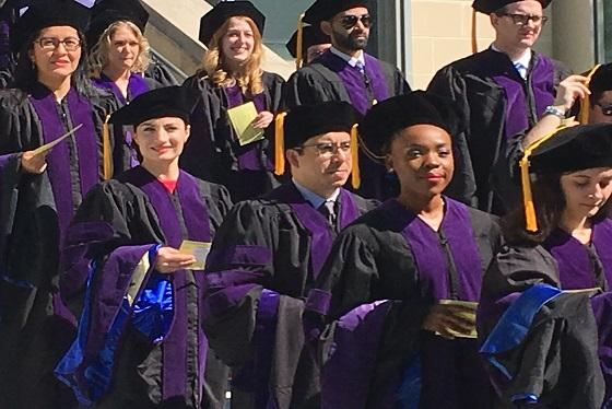 West Chester University Graduation 2020.Commencement Pace Law School