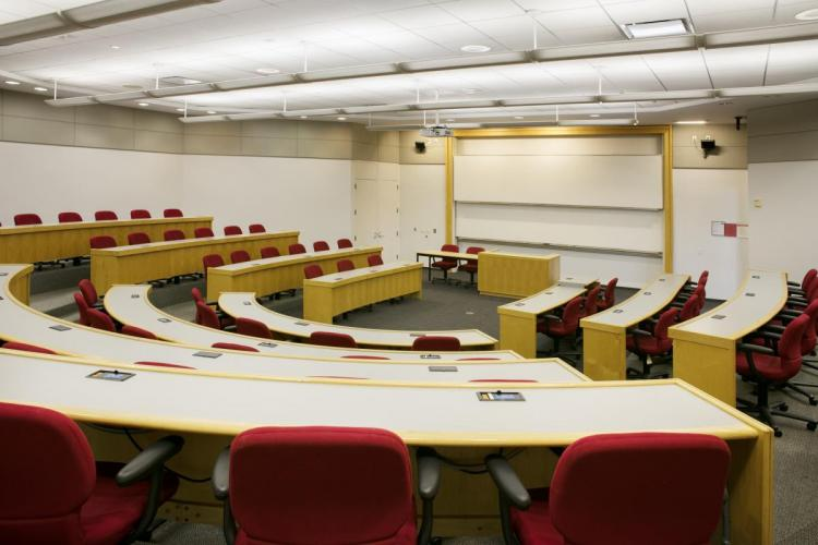 State of the art classrooms