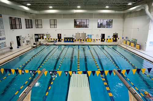 Swimming Pool - The Goldstein Fitness Center on Pace University's Pleasantville campus