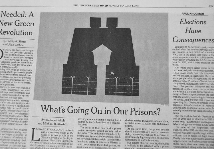 """Professor Michael Mushlin's op ed was featured in """"The New York Times"""""""