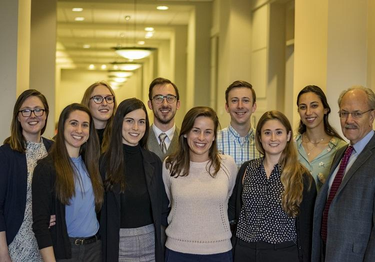Professor Nolon's research team