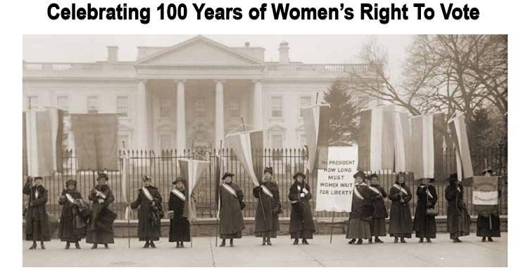 Celebrating Women's Rights