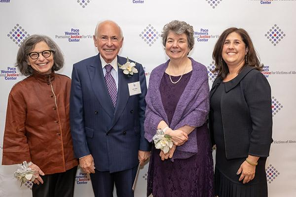 The honorees and PWJC's Executive Director