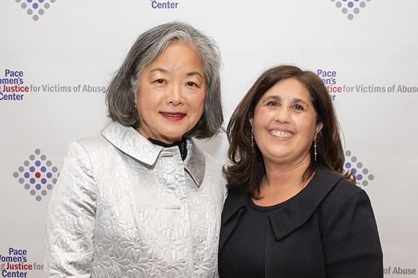 Jane Aoyama and Cindy Kanusher