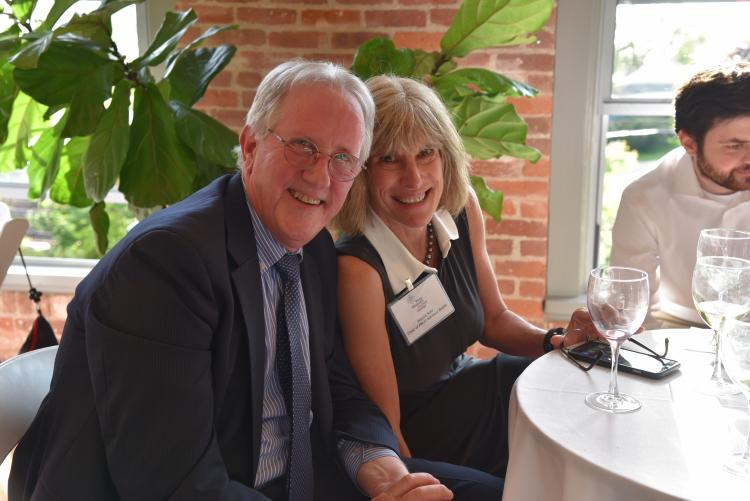 Advisory Board members Alayne Katz and Larry McElron